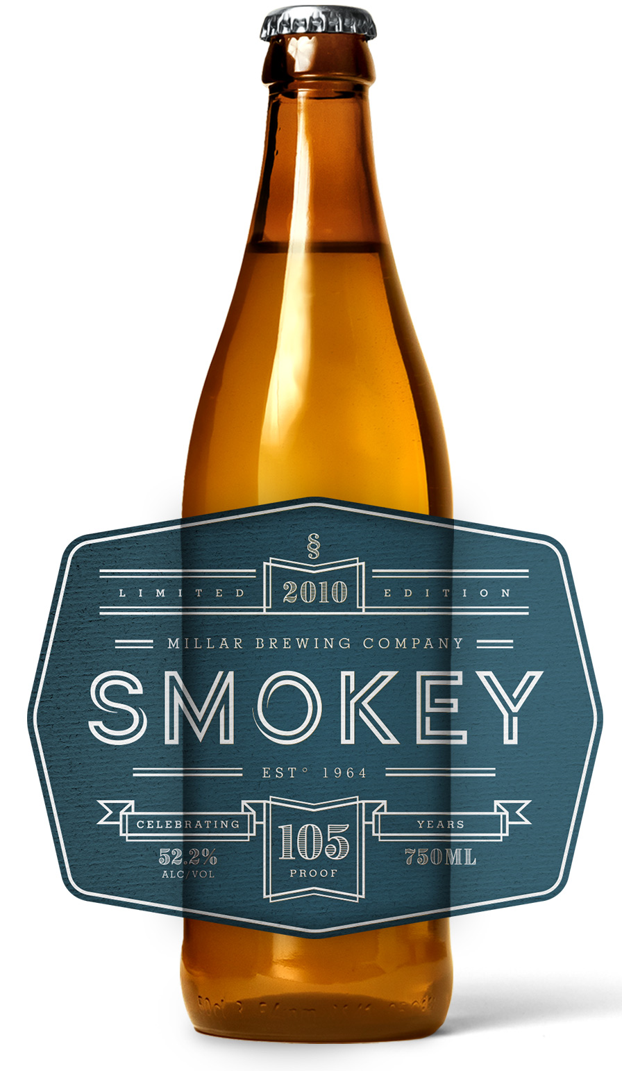 Smokey Roll Beer Label Printing