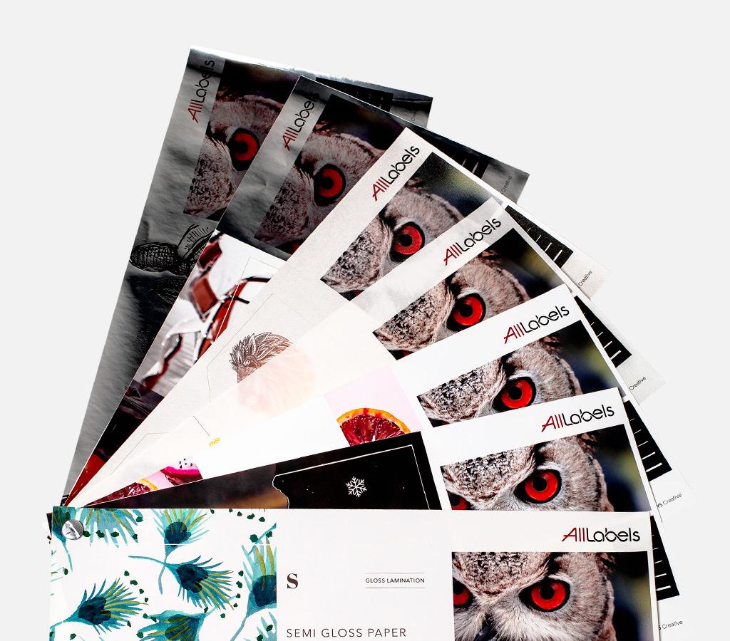Best Printed Label Sample